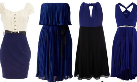Perfect blue dresses to wear at weddings
